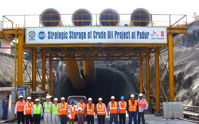 Strategic storage of crude oil at Padur
