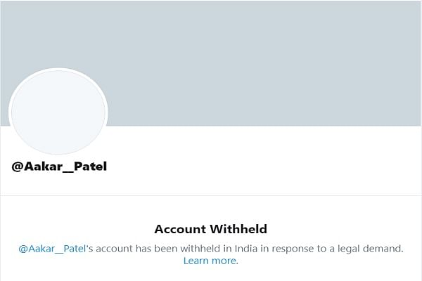 Former Amnesty India Head's Twitter Account Witheld After He Was Booked On Charges Of Provoking Rioting