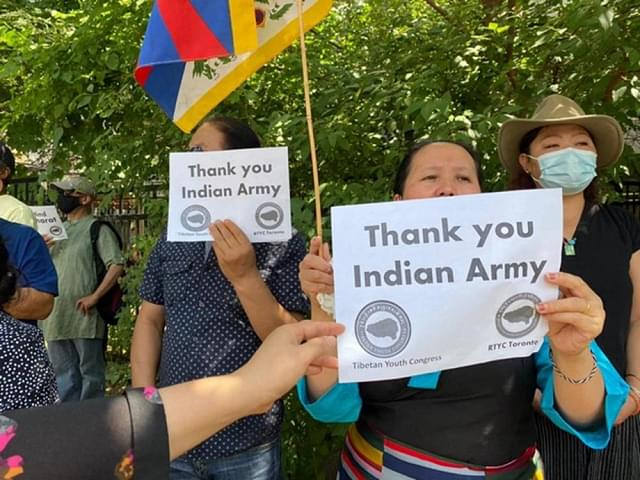 'China Out Of Tibet Now': Tibetans Protest In Canada And The US Against China, Thank Indian Army