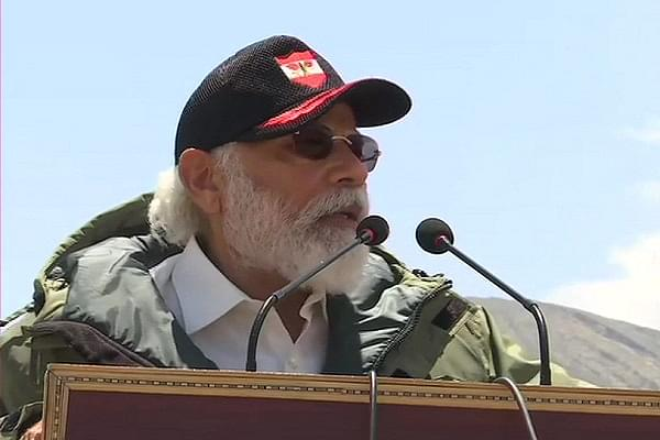 'We Idolise Lord Krishna Who Carries The Sudarshana Chakra': PM Modi Addresses Indian Armed Forces At Ladakh