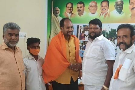 DK Founder E V Ramasamy's Grandson Joins BJP As DMK, AIADMK Grapple With Internal Problems
