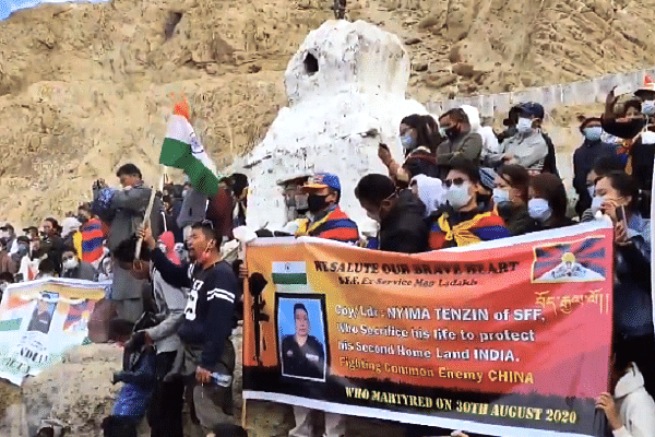 India Pays Emotional Farewell To Tibetian Hero Nyima Tenzin, Martyred In SFF's Daring Kalaa Top Operation