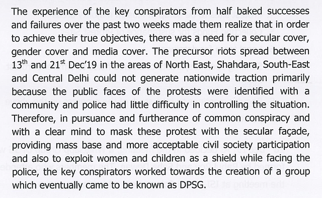 Chronology Of Conspiracy: How They Orchestrated Anti-CAA Protests And Violence In Delhi, Riots Chargesheet Explains