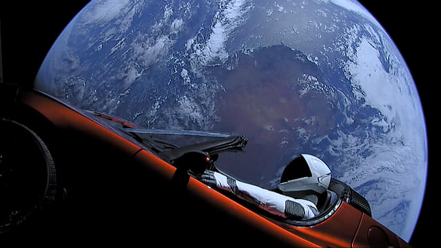 Elon Musk's Tesla Roadster And Its 'Starman' Driver Flew Past Mars Over Two Years After The Car Was Launched Into Space
