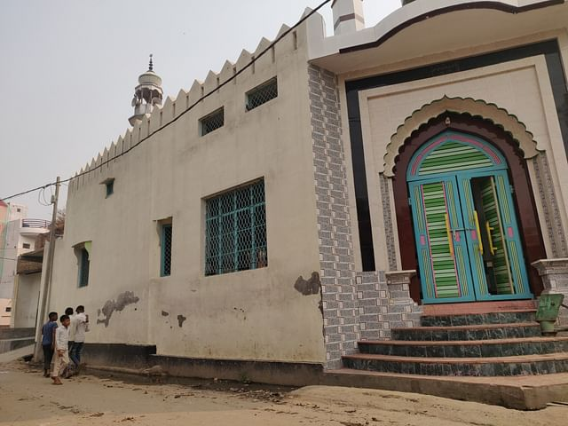 A view of the mosque