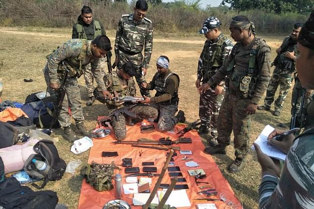 Jharkhand: Sex Toys, Huge Cache Of Arms and Ammunition Recovered From Banned Maoist Group's Hideout