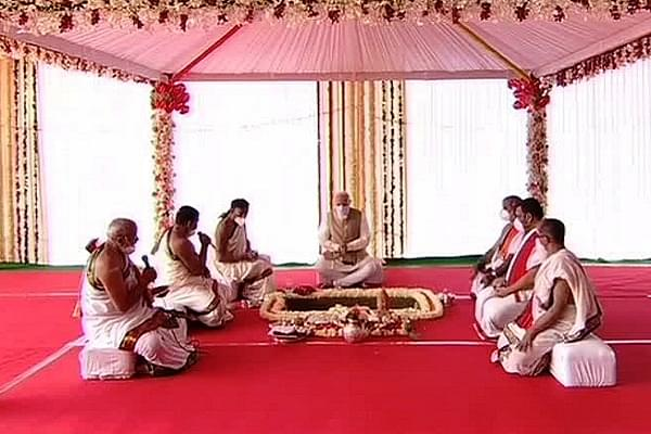 Vedic Hymns Reverberate As PM Modi Performs Bhoomi Pujan Of New Parliament Building