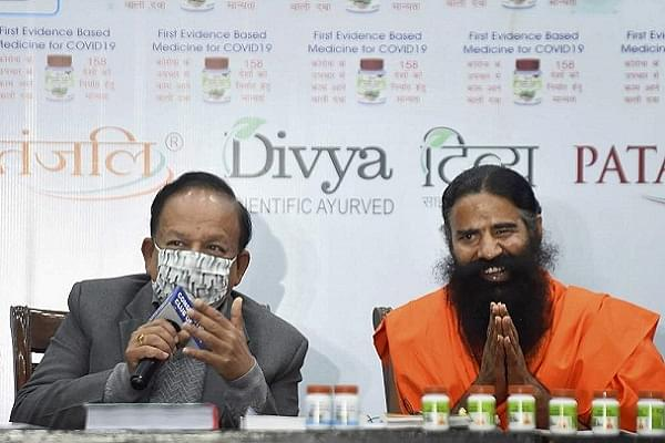 'Coronil An Evidence-Based Medicine With Scientifically Validated Research': Patanjali Counters IMA's Scathing Attack