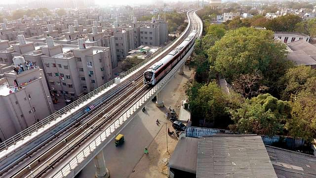 Metro Work In Gujarat Picks Pace As Two Construction Phases Progress Simultaneously In Ahmedabad