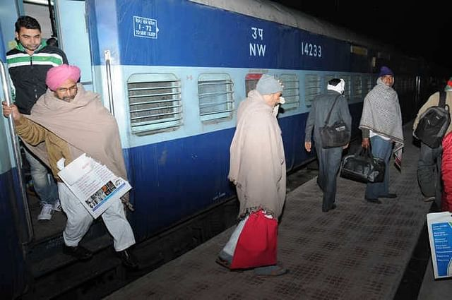 Cancer patients travelling for treatment.