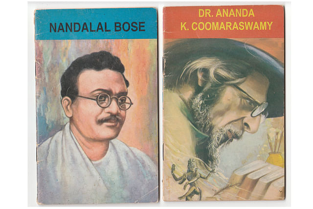 Artists and real indologists.