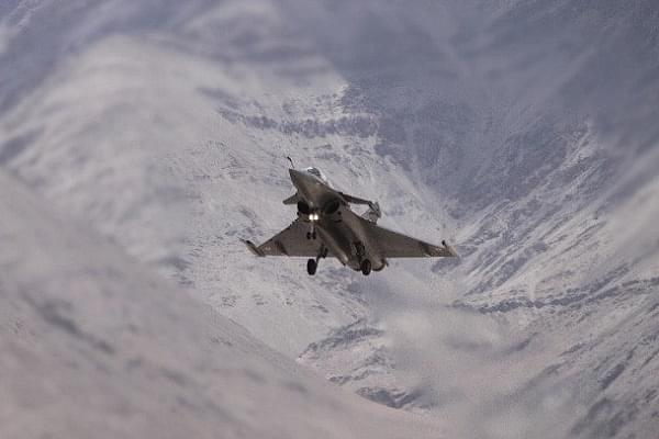 In Pictures: IAF's Rafales, Armed With MICA Missiles, Flying In Ladakh