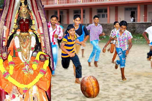 The Kick Of Bhakti: A Goddess' Football League Where Devotees Play To Pray