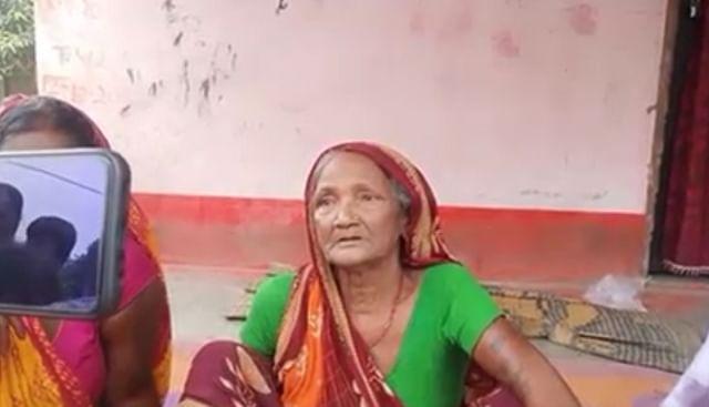 Wife of deceased Newalal Rai