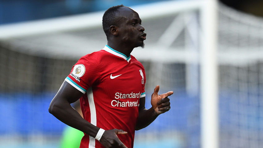 Liverpool forward Sadio Mane tests positive for COVID-19