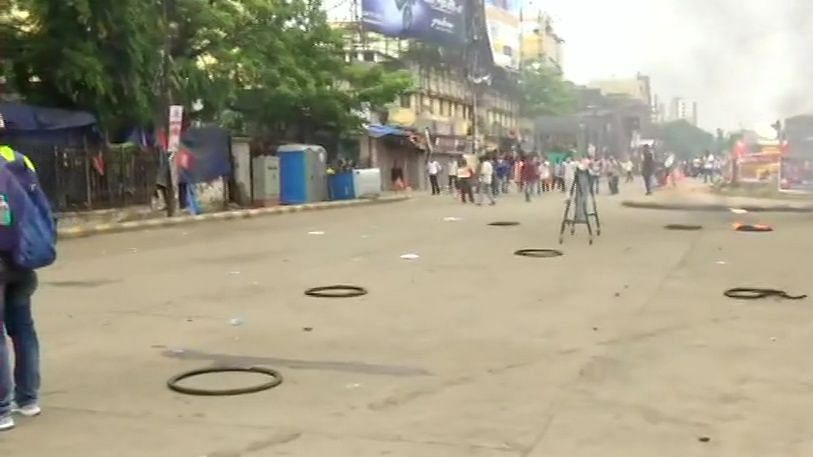 West Bengal: BJP protest turns chaotic; clashes break out between police and party workers
