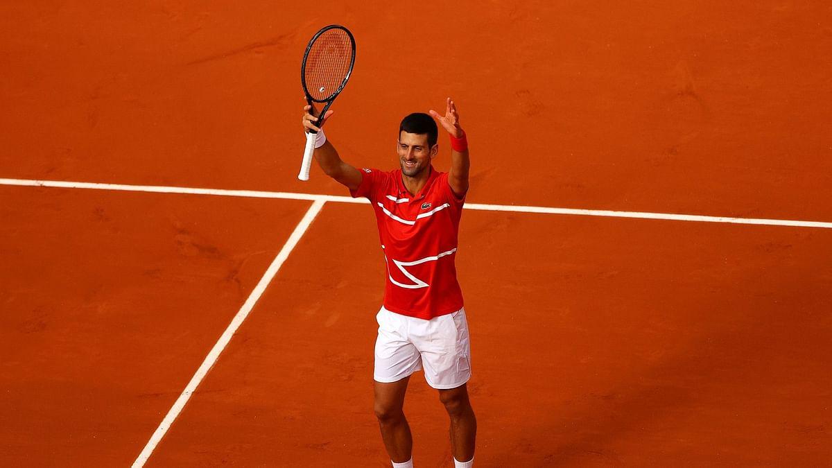 Novak Djokovic suffers deja vu after hitting line judge