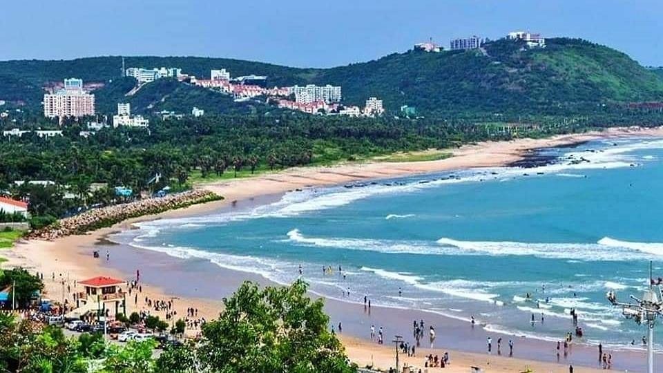 Vizag beach earns internationally acclaimed 'Blue Flag'