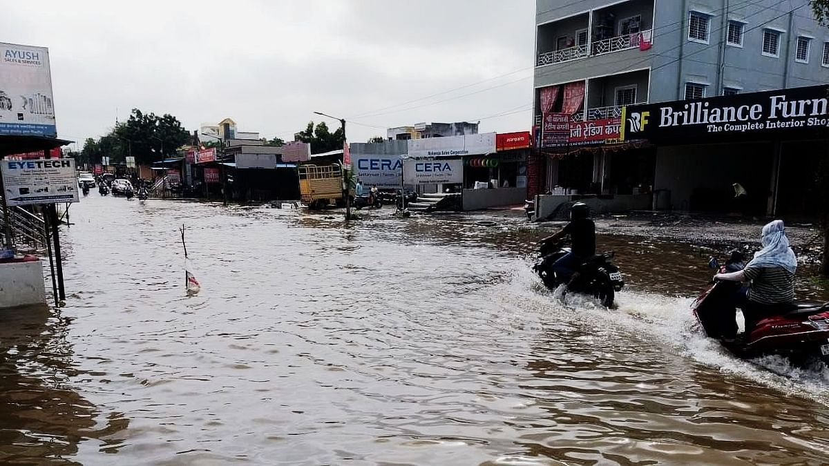 Pune: Here's why waterlogging happens on Lohegaon Wagholi main road after torrential rains