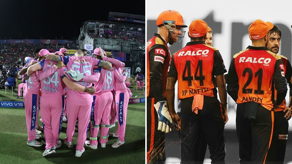 IPL 2020: RR face out-of-form SRH in hopes of breaking into the top four
