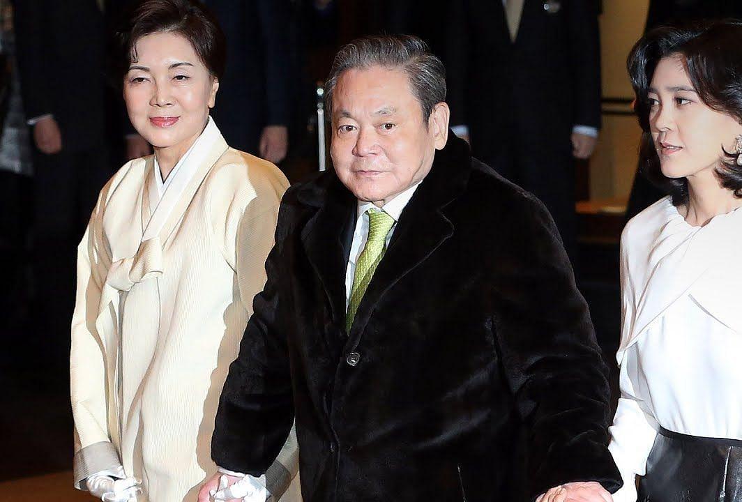 Samsung Chairman Lee Kun-hee passes away at 78