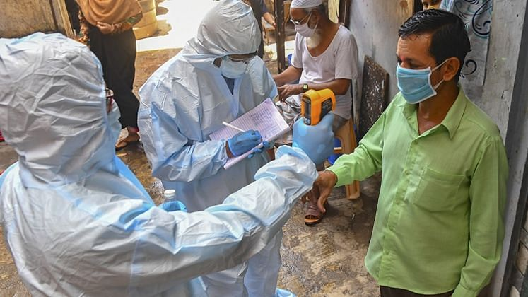 India records 18,327 new COVID-19 infections, active cases rise again
