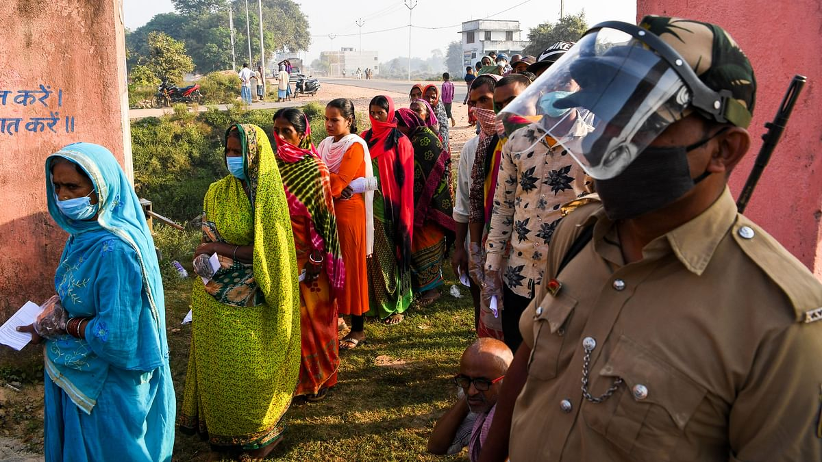 Bihar elections: Future of 1,066 candidates at stake; PM Modi urges people to vote, follow COVID-19 rules