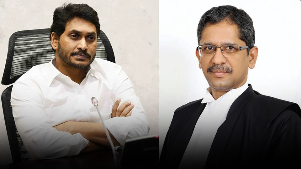 Andhra Pradesh CM Y.S. Jaganmohan Reddy levelled serious corruption charges against the seniormost judge of the SC, Justice N.V. Ramana