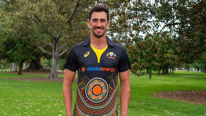 Australia unveils their indigenous jersey ahead of T20s against India