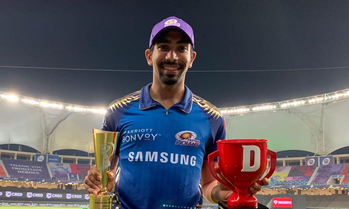 Mumbai Indians' ace bowler Jasprit Bumrah