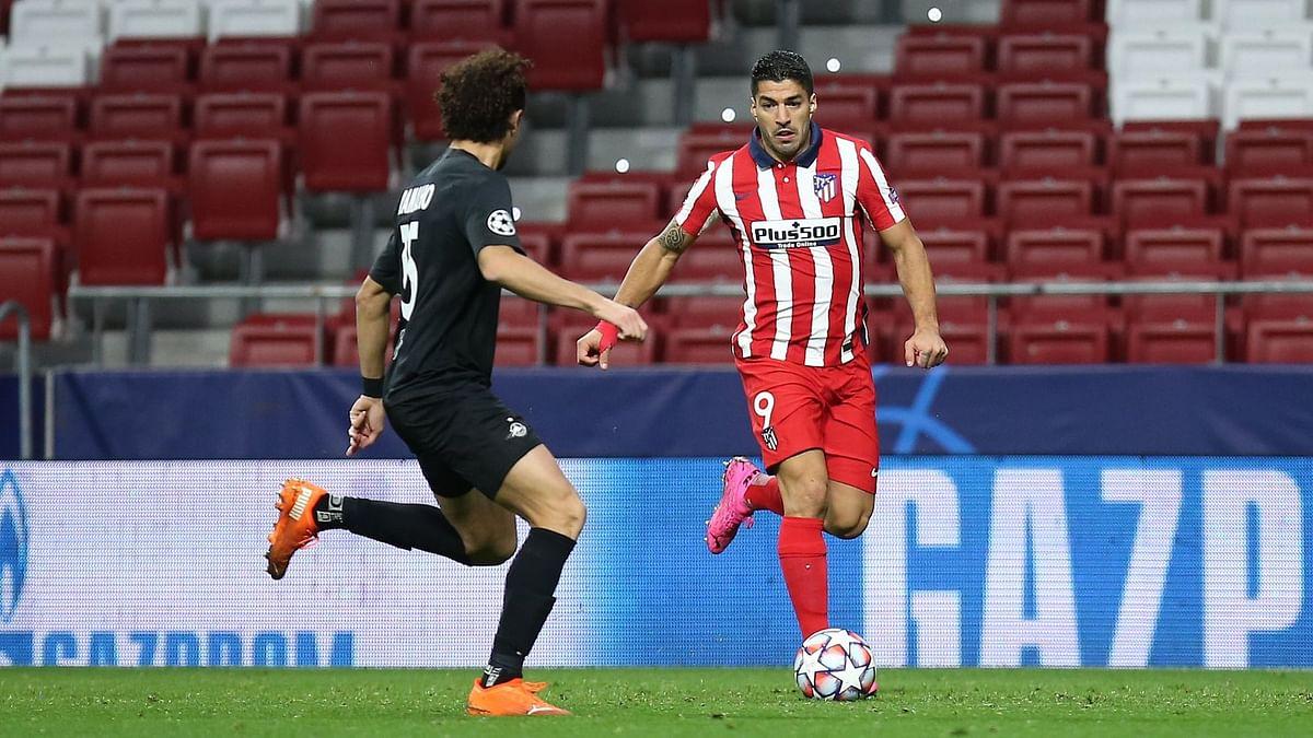 Luis Suarez tests positive for COVID-19