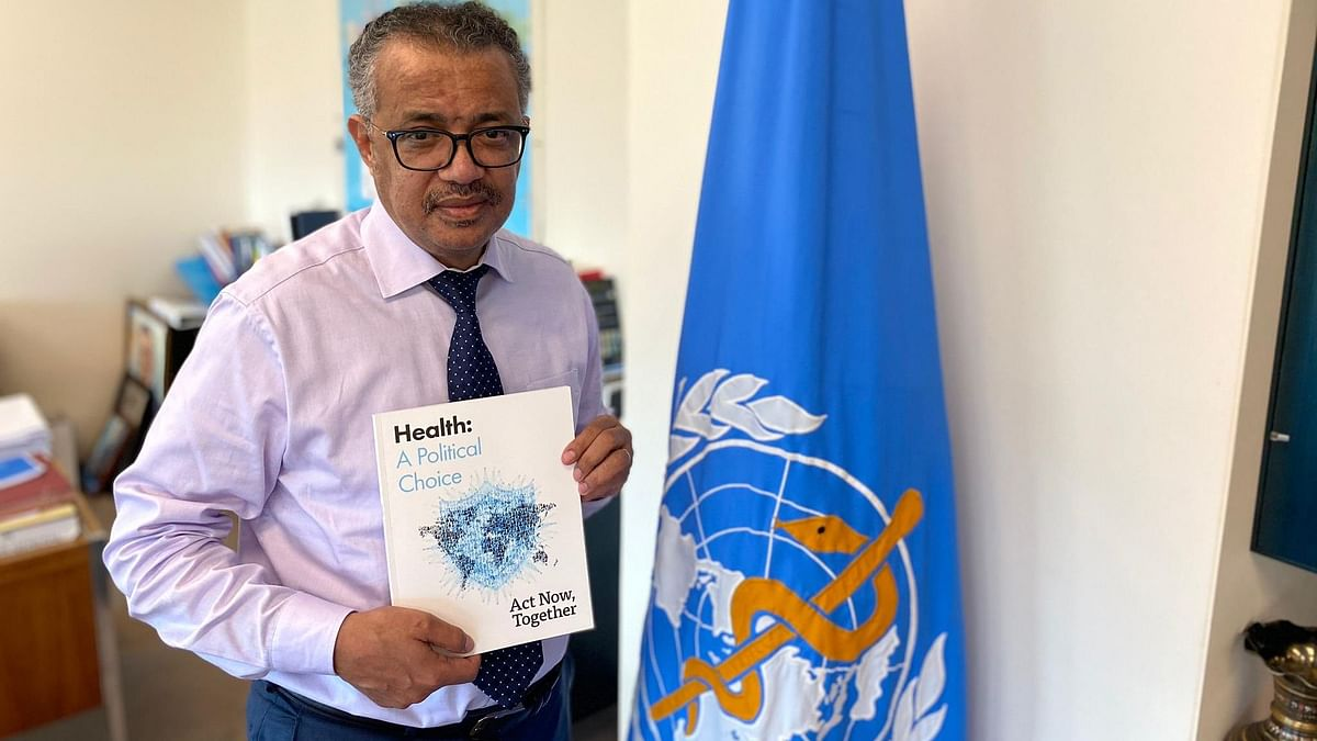 WHO Chief Tedros Adhanom Ghebreyesus under self-quarantine