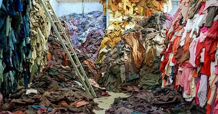Waste generated due to fast fashion