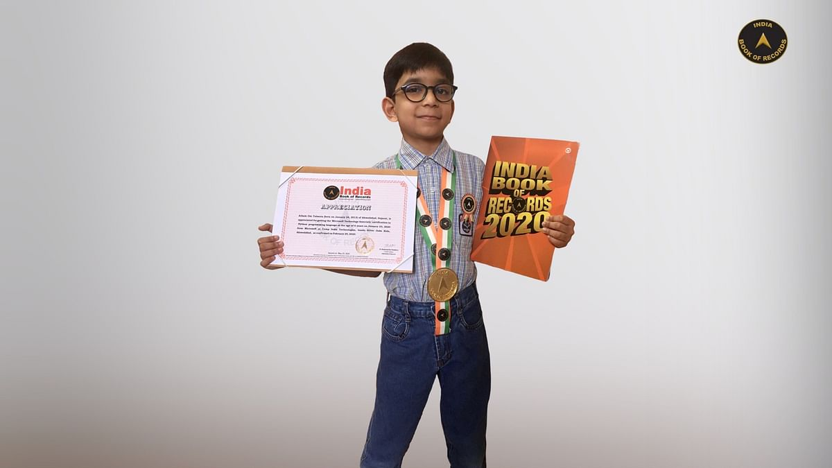 Young prodigy: This six-year-old Gujarat boy is world's youngest programmer