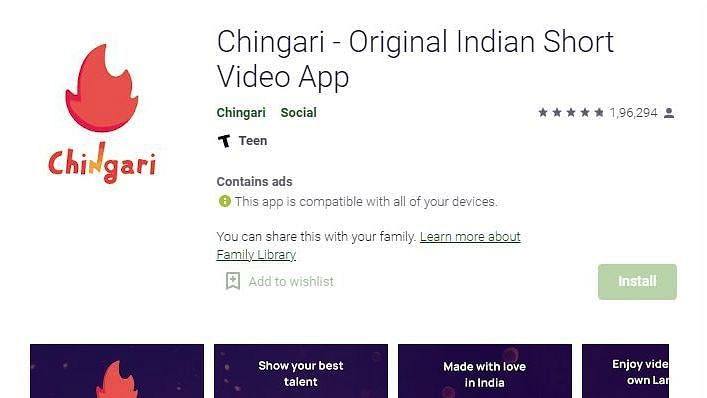 India's short video app Chingari crosses 38 million users