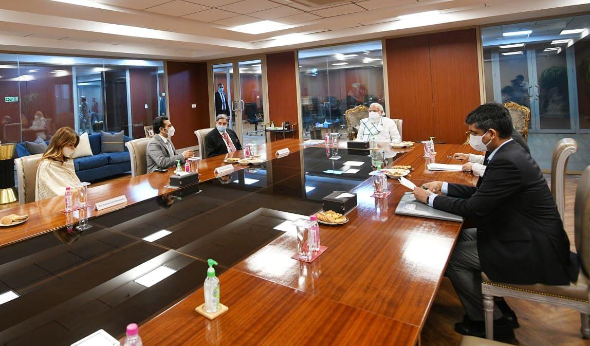 Pune: PM Narendra Modi says 'had good interaction with team at Serum Institute of India'