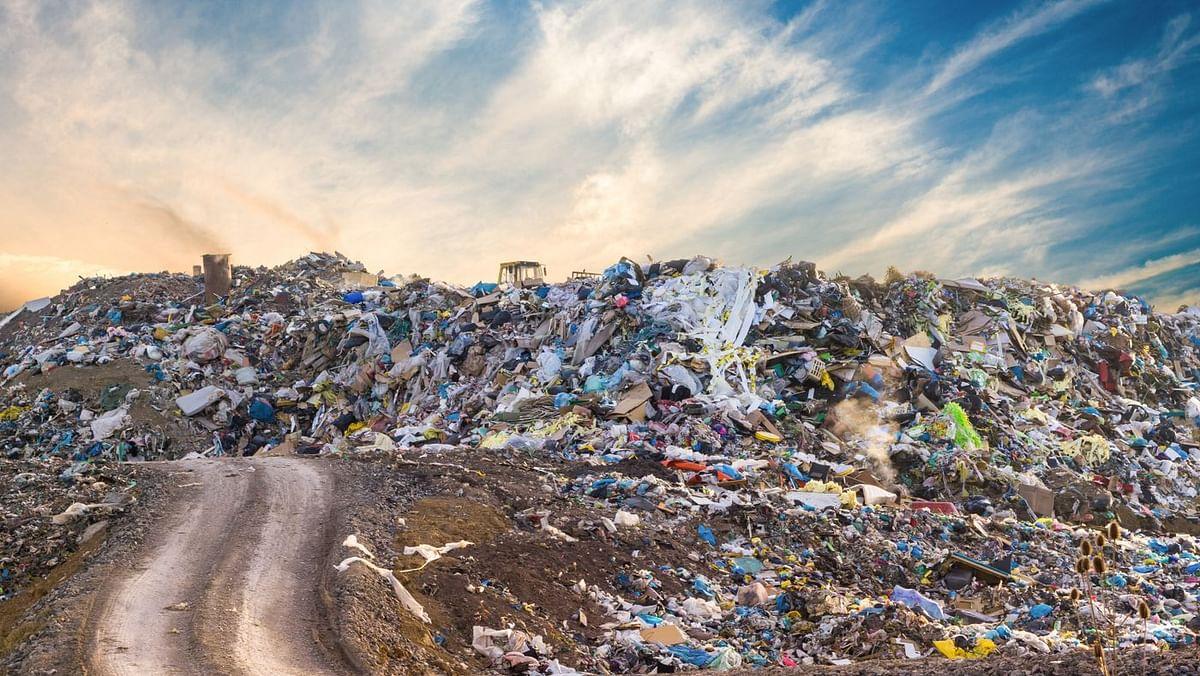 Landfill created due to fash fashion