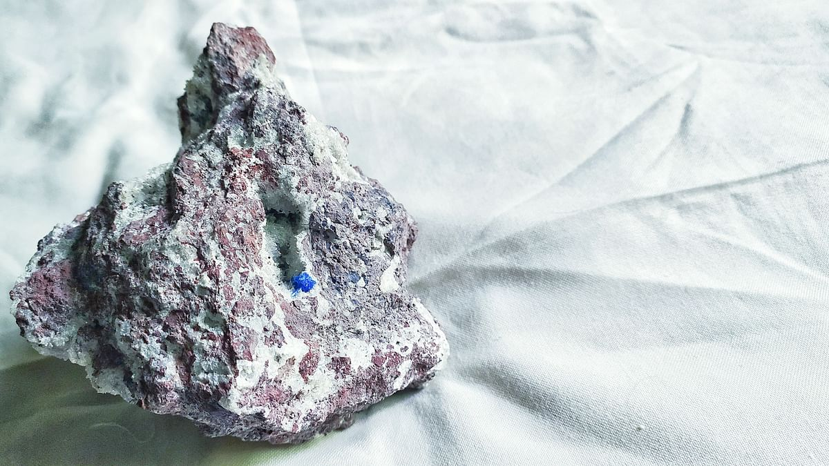 Pune's hidden treasure: Here's all that you need to know about the blue mineral 'cavansite'