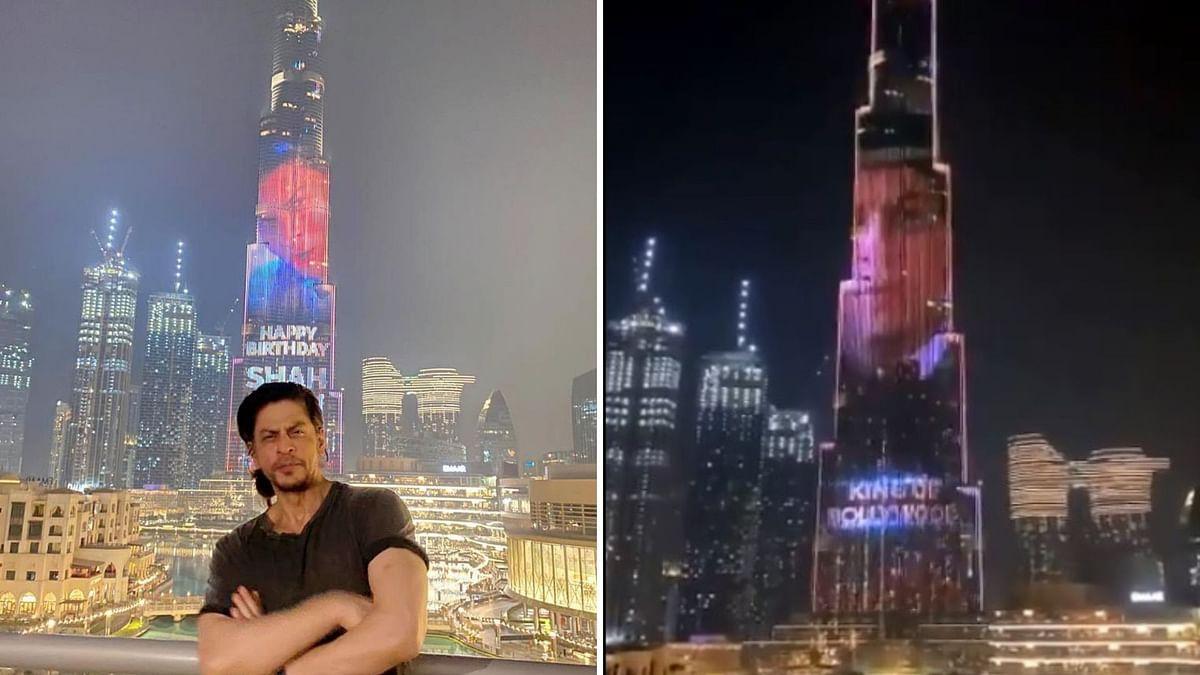 Shah Rukh Khan birthday special: Burj Khalifa adds sparkle to his celebration