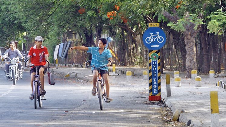 Off-track: Only 18 per cent cyclists in Pune city make use of cycle tracks