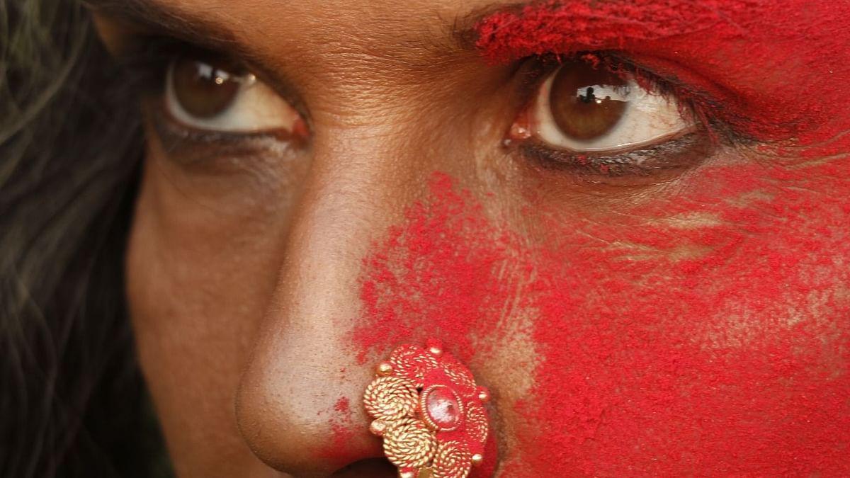 Milind Soman shares photo sporting nose ring and kajal