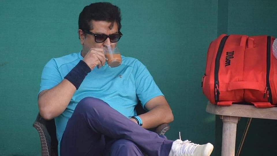 Raj Thackeray's date with tennis court; Twitter adores MNS Chief's new look