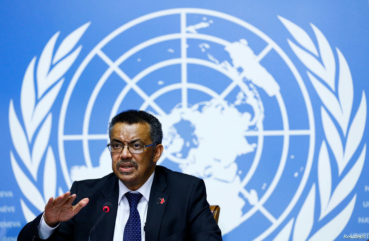 The world needs a global system for sharing pathogen materials: WHO chief Tedros Adhanom Ghebreyesus