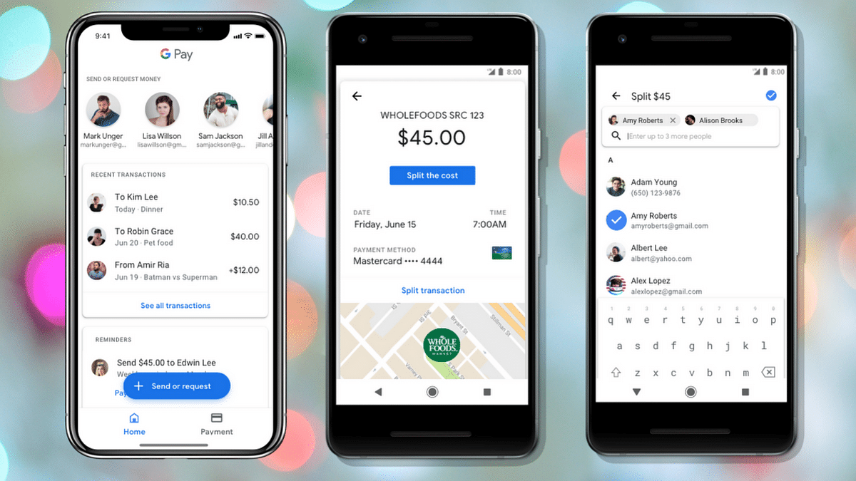 Google Pay: Plex Account will focus on friends, businesses you transact with frequently