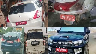 Uttar Pradesh police to seize all vehicles with caste stickers