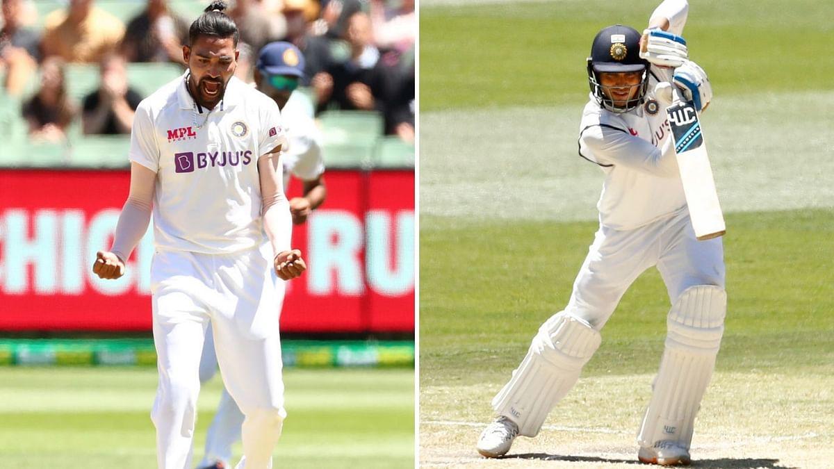 Boxing Day Test: Debutants Gill, Siraj showed character, says Ajinkya Rahane