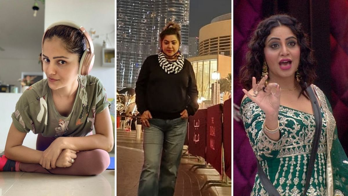 Rubina Dilaik, Dolly Bindra and Arshi Khan