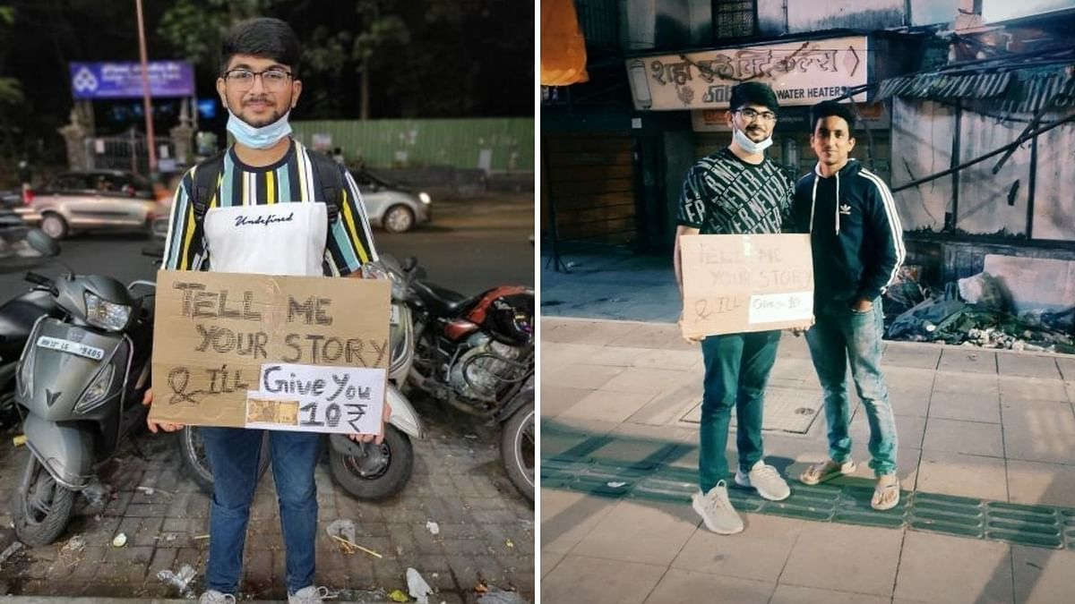 Tell me your story: This Pune boy will listen to your tale and will pay you Rs 10 for it
