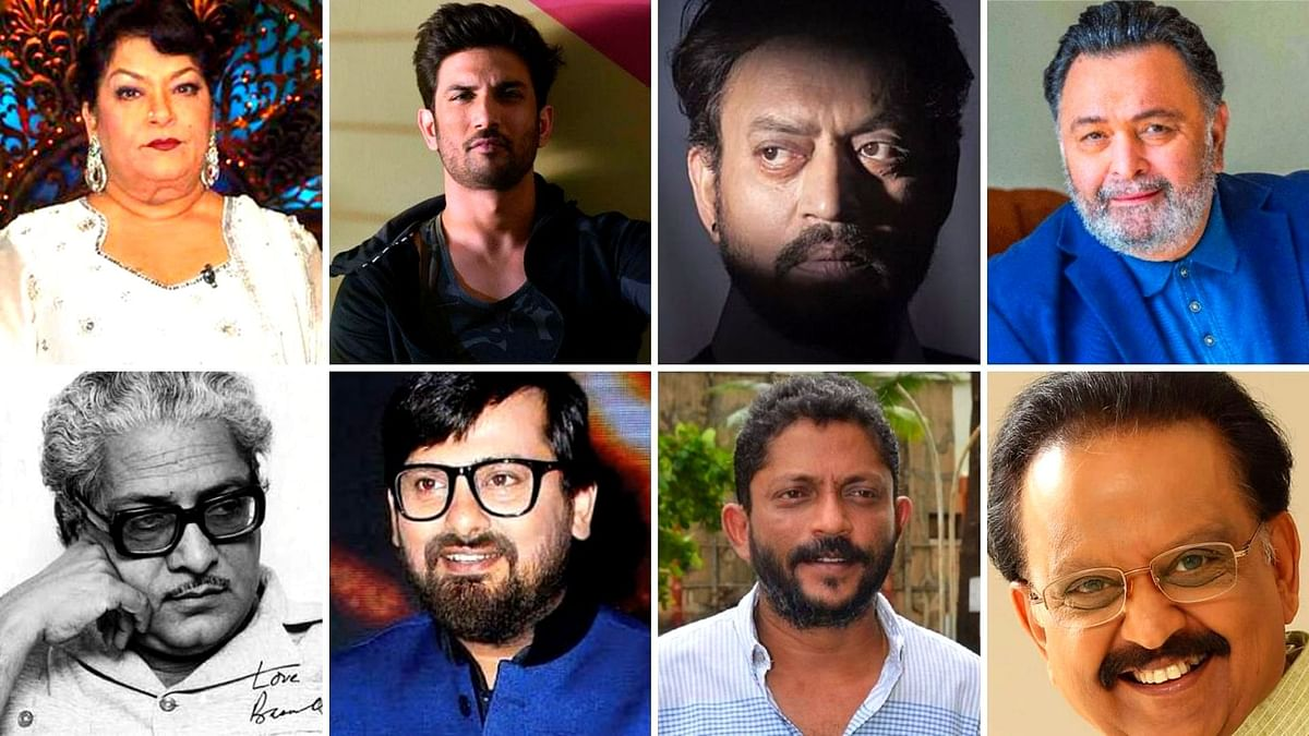 This year many famous Bollywood celebrities left us too soon