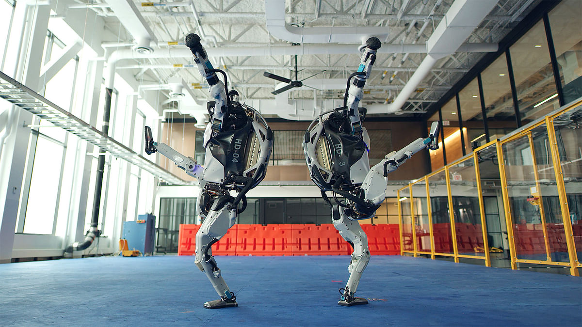 Watch: These robots can take you down with their dance moves!